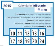 Fuente DIAN, Calendario tributario 2014